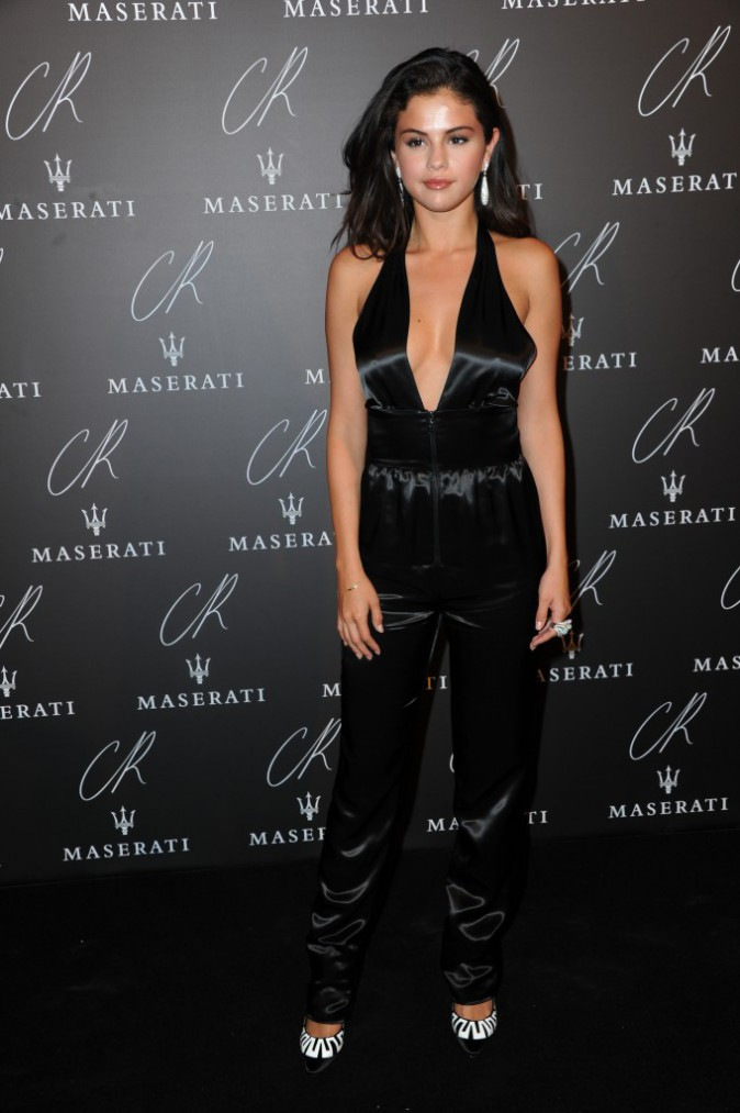 Selena Gomez à la CR Fashion Book Party le 30 septembre 2014