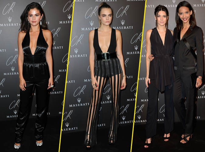 Selena Gomez, Cara Delevingne, Kendall Jenner... Trio de choc � la CR Fashion Book Party !