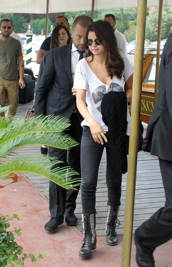 Selena Gomez à Venise le 4 septembre 2012