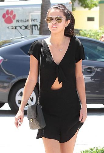 Selena Gomez à Miami le 12 juillet 2014
