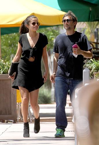 Selena Gomez et Harmony Korine à Miami le 12 juillet 2014