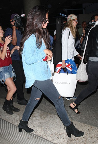 Cara Delevingne et Selena Gomez à Los Angeles le 24 juillet 2014
