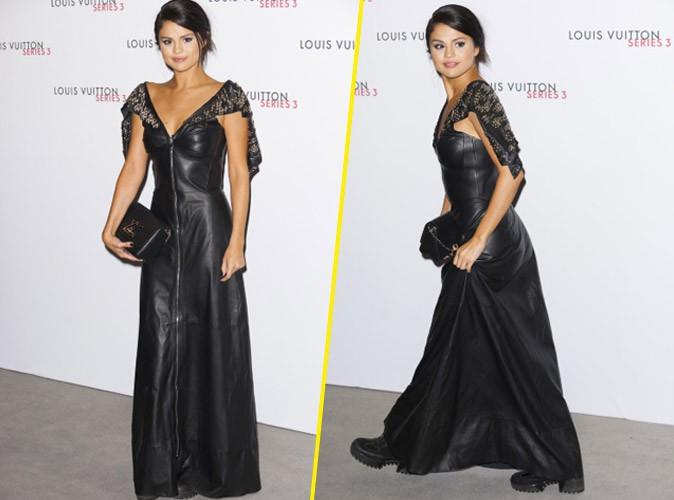 """Photos : Selena Gomez débarque avec ses """"gros sabots"""" chez Louis Vuitton !"""