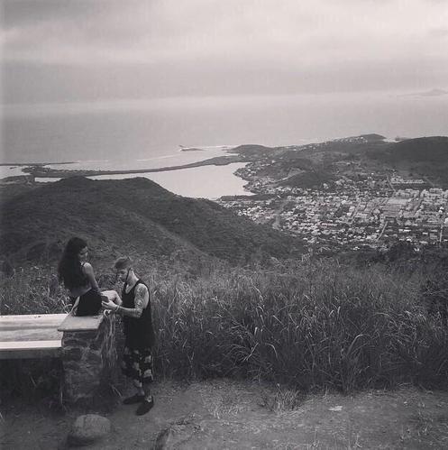 Selena Gomez et Justin Bieber sur l'île de Saint-Martin