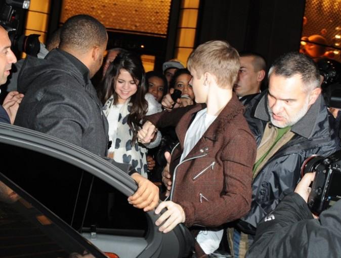 Selena a suivi Justin en pormo !