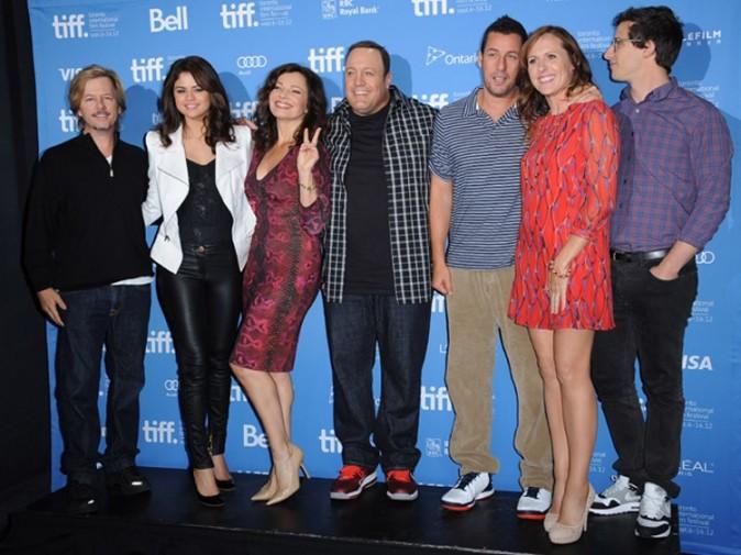Selena Gomez au Festival International du Film de Toronto le 8 septembre 2012