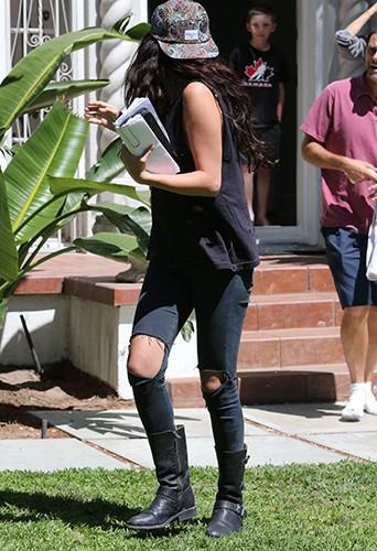Selena Gomez à Los Angeles le 26 juillet 2014