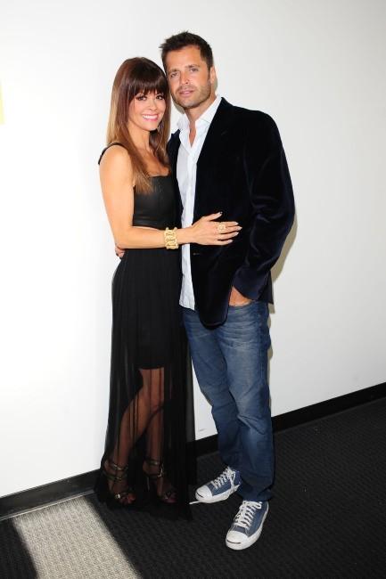 Brooke Burke, la présentatrice de Dancing With the Stars, et son mari David Charvet