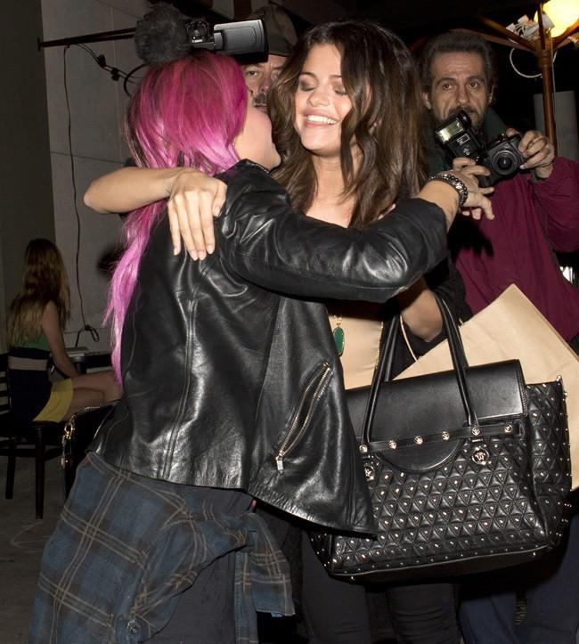 Selena Gomez et Demi Lovato à Los Angeles le 23 janvier 2014