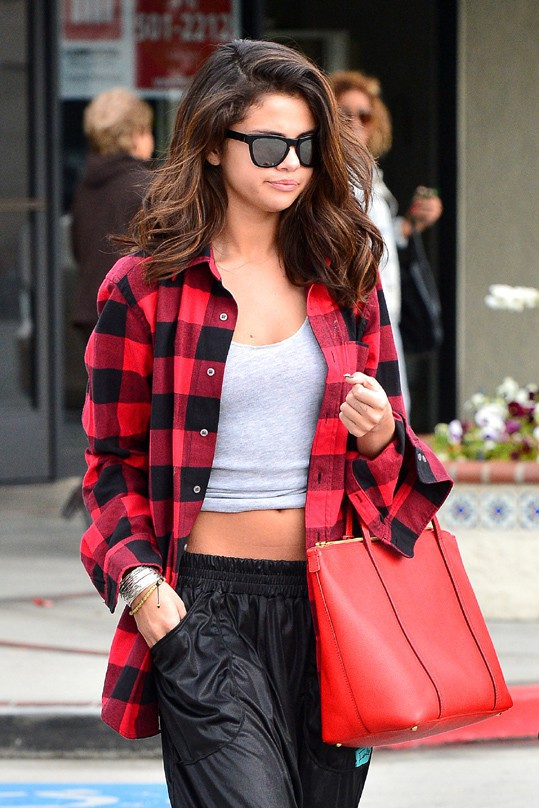 Selena Gomez à Tarzana le 7 février 2014