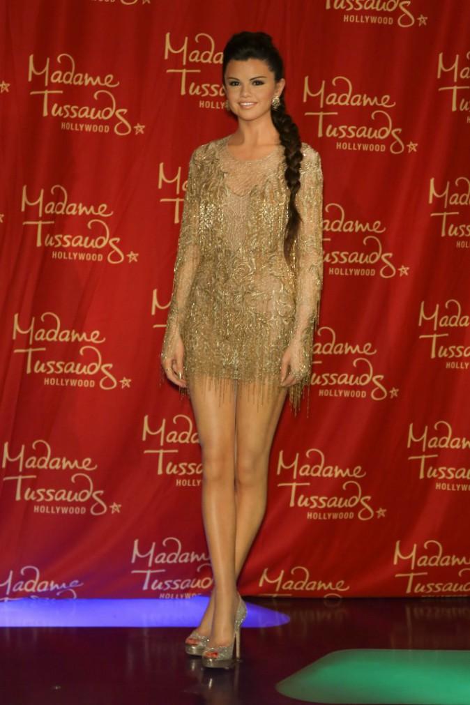 La nouvelle statue de cire de Selena Gomez au Musée Madame Tussauds de Los Angeles.