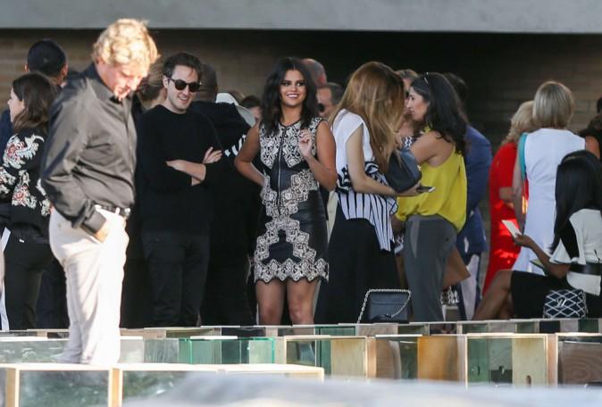 Selena Gomez au Louis Vuitton Cruise 2016 Resort Collection organisé à Palm Springs le 6 mai 2015