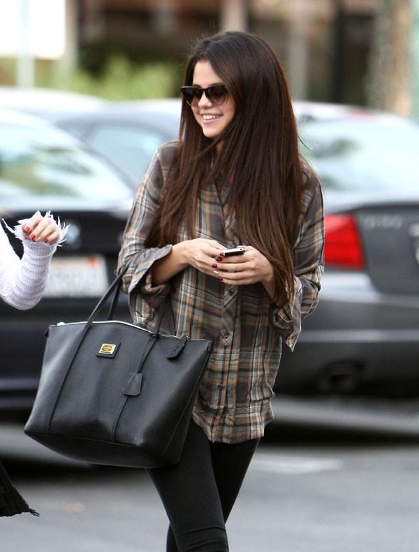 Selena Gomez à Los Angeles le 4 décembre 2012