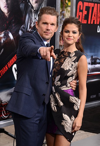 Selena Gomez et Ethan Hawke à Los Angeles le 26 août 2013