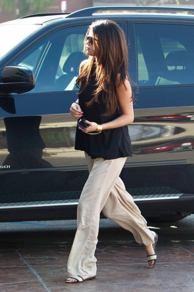 """Photos : Selena Gomez : touchée, la starlette """"se remettrait bien avec Justin """" !"""