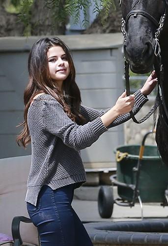 Selena Gomez à Los Angeles le 18 avril 2014