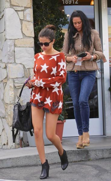 Selena Gomez à Tarzana, le 4 février 2014.