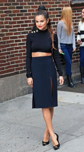 Selena Gomez en promo à New York, le 17 octobre 2013.