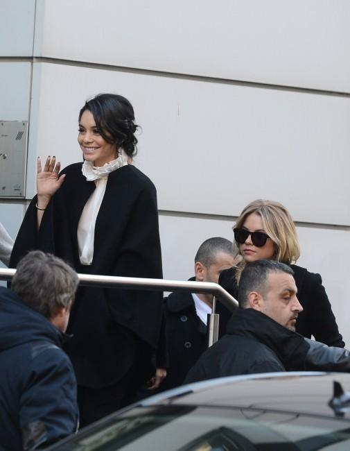 Vanessa Hudgens le 18 février 2013 à Paris
