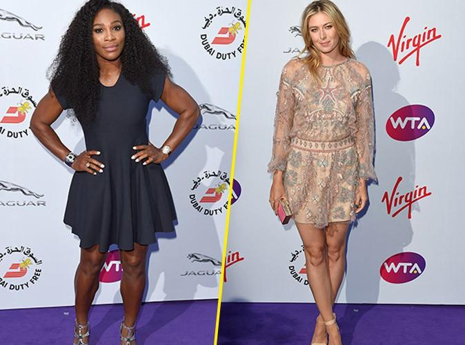 Serena Williams et Maria Sharapova : quand les tenniswomen subjuguent Londres !