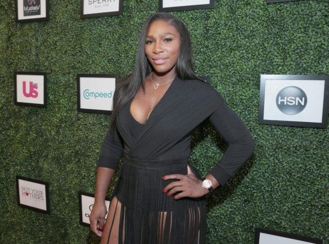 Serena Williams à New York le 15 septembre 2015