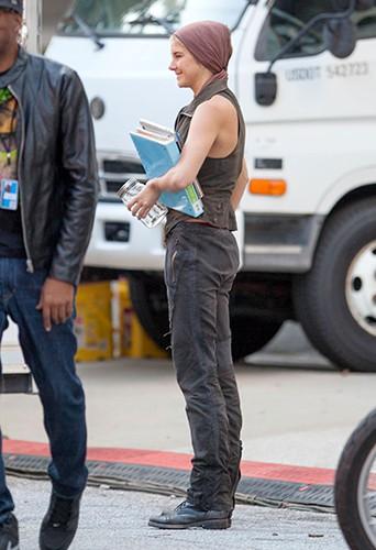 Shailene Woodley à Atlanta le 25 août 2014