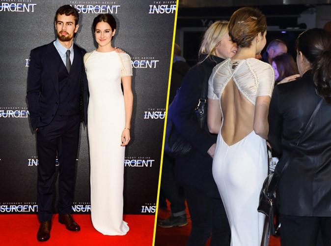 Photos : Shailene Woodley : sexy aux côtés de Theo James pour présenter Divergente 2 !