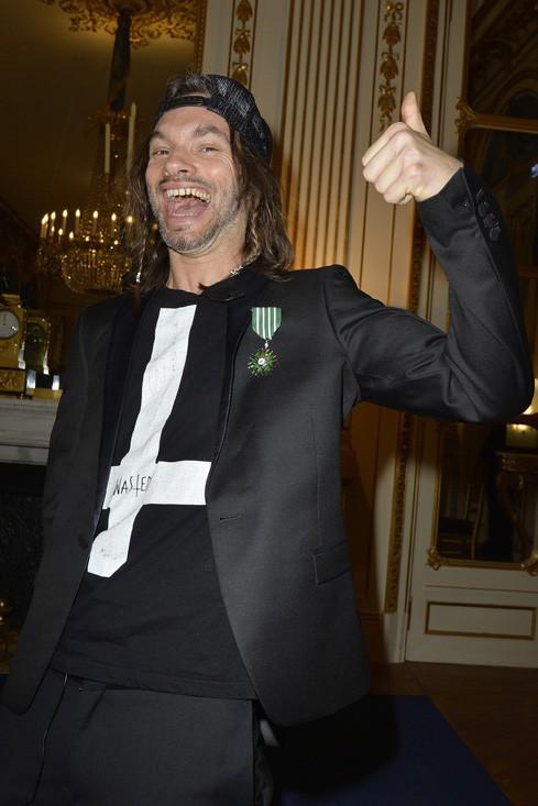 Le groupe Shaka Ponk nommé chevalier des Arts et Lettres à Paris le 18 mars 2014