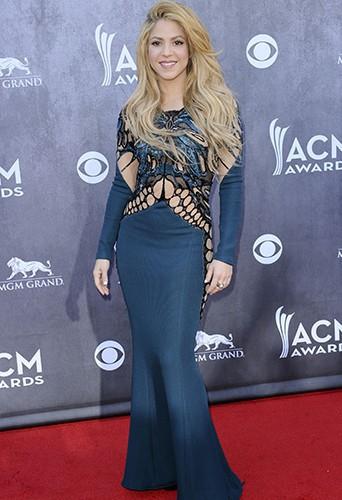 Shakira à Las Vegas le 6 avril 2014
