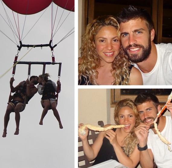 Shakira et Gerard Piqué : ils s'envoient en l'air !