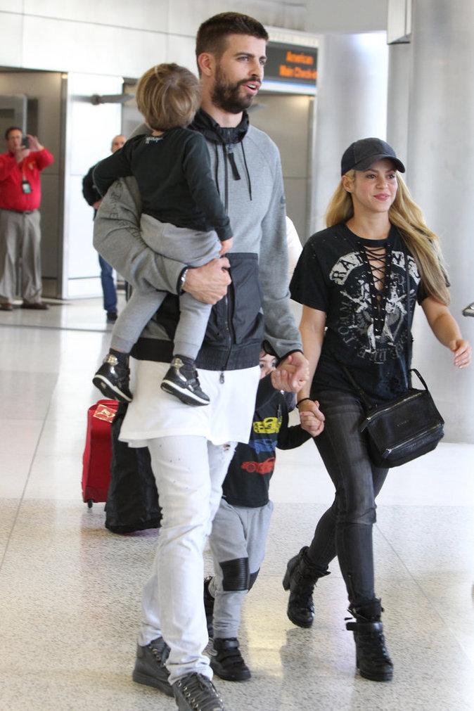 Shakira et Gerard Piqué : une famille formidable !