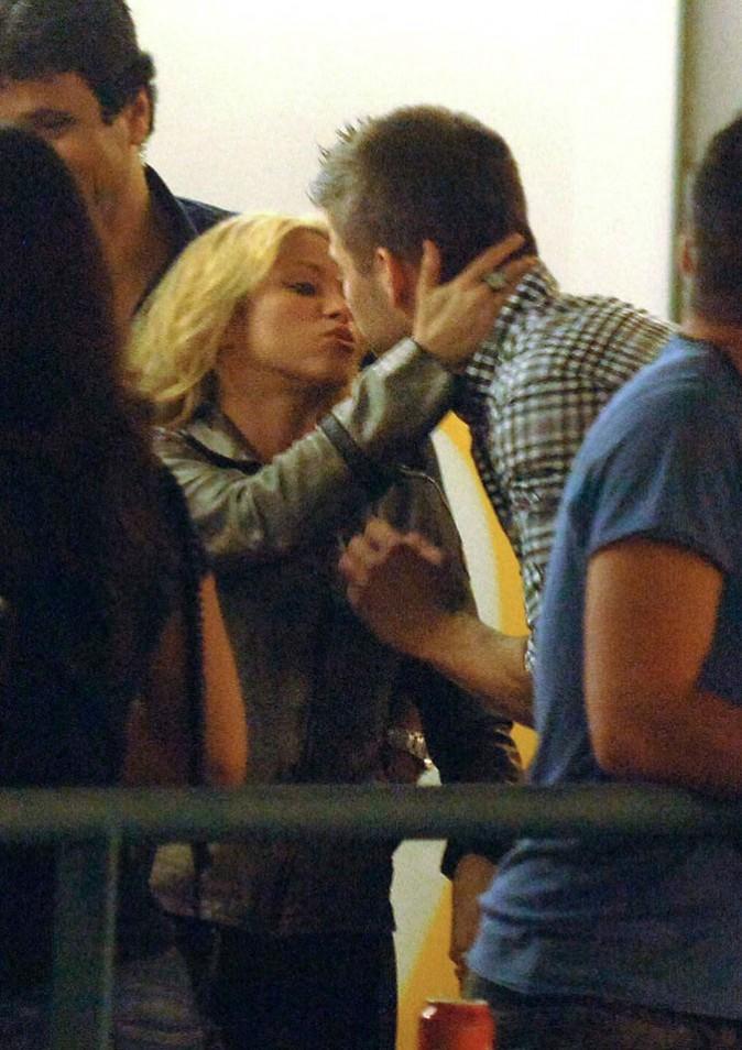 Shakira fait le plein de bisous !