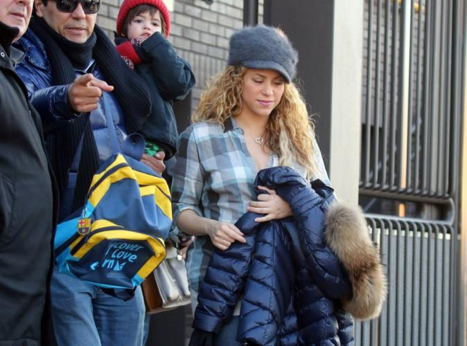 Shakira : retour au train train quotidien pour la jeune maman !