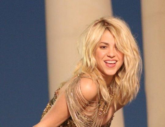 Shakira pendant le tournage de son nouveau clip