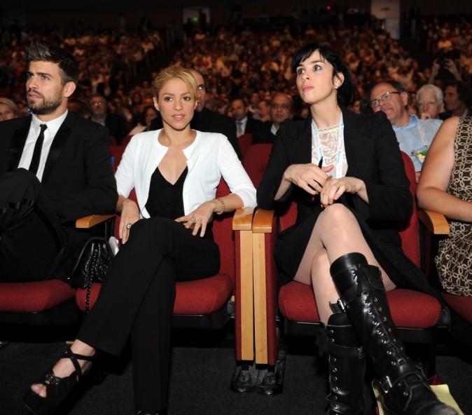 Shakira et Gerard Piqué ne sont pas au cinéma mais à une conférence de presse !