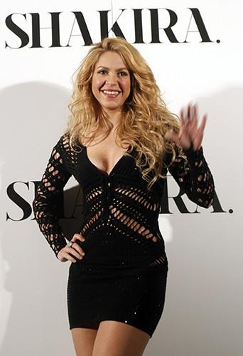 Shakira à Barcelone le 20 mars 2014