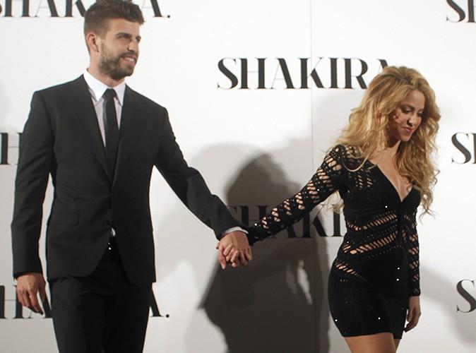 Shakira et Gerard Piqué à Barcelone le 20 mars 2014