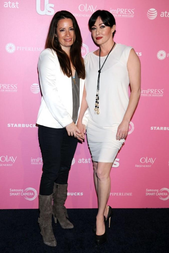 Holly Marie Combs et Shannen Doherty se retrouvent à la soirée Us Weekly