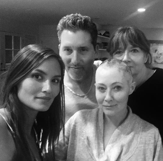 Photos : Shannen Doherty : elle se bat contre son cancer, son mari ne lâche pas