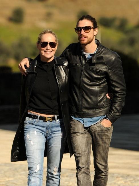 Sharon Stone et Martin Mica au Portugal