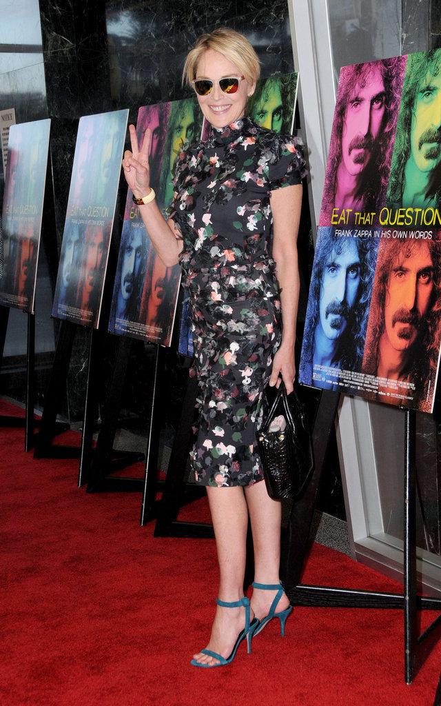 Sharon Stone en 2016