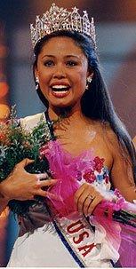 Vanessa Lachey couronnée Miss Teen USA en 1998