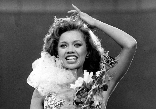 Vanessa Williams, première afro-américaine couronnée Miss America en 1984