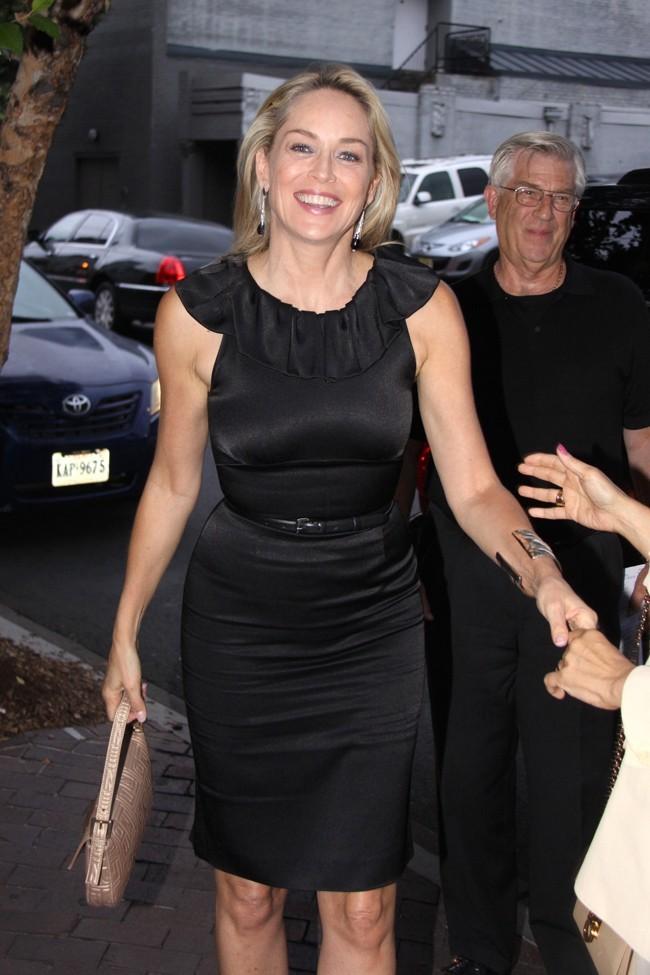Sharon Stone le 20 juillet 2012 à Washington