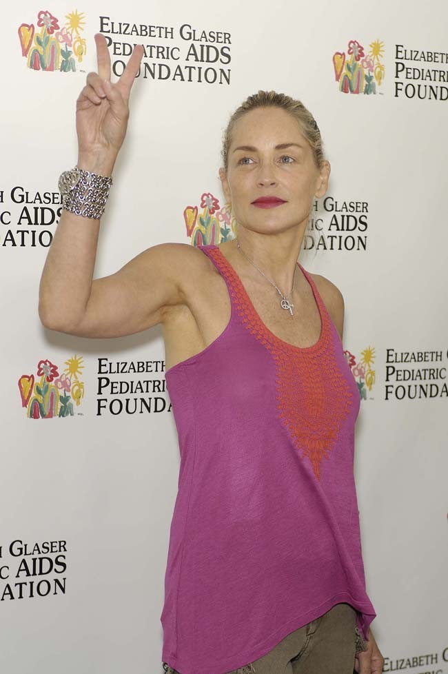 Sharon Stone le 3 juin 2012 à Los Angeles