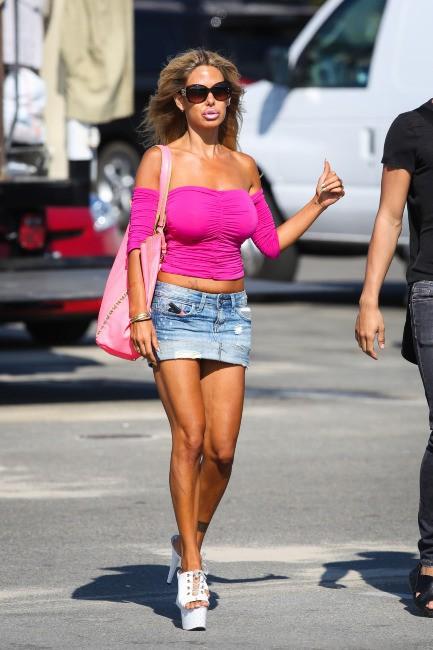 Shauna Sand à Los Angeles, le 7 août 2013.