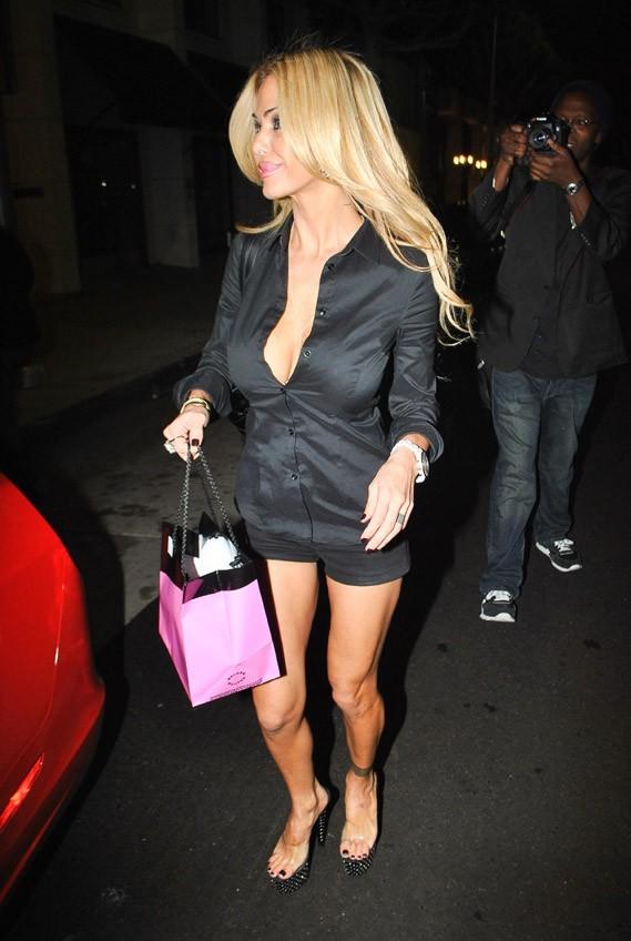 Shauna Sand à Beverly Hills le 30 octobre 2012