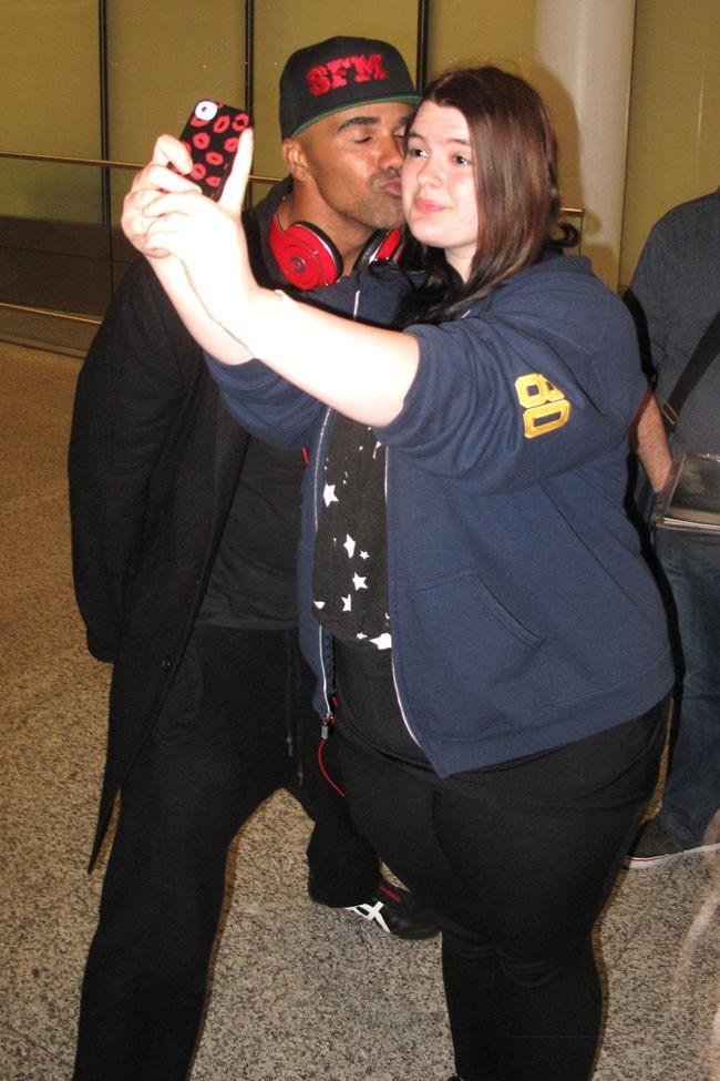 Shemar Moore à l'aéroport de Toronto le 5 juin 2013