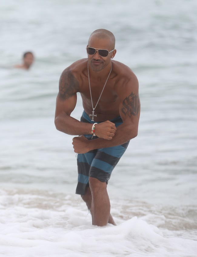 Photos : Shemar Moore : l'acteur d'Esprits Criminels reprend son rôle de tombeur à Miami !