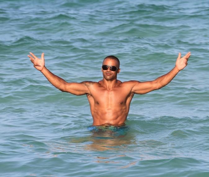 Shemar Moore à Miami le 2 juillet 2012